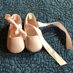 Other - Baby Ballerina Crib Shoes, Size 3